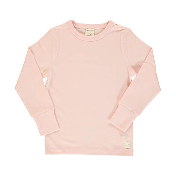 Maxomorra - Jersey para bebé (manga larga, algodón bio), color rosa 1