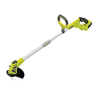 Ryobi ONE+ Cordless Hybrid Grass Trimmer with 1.3 Ah Battery, Charger and Cable