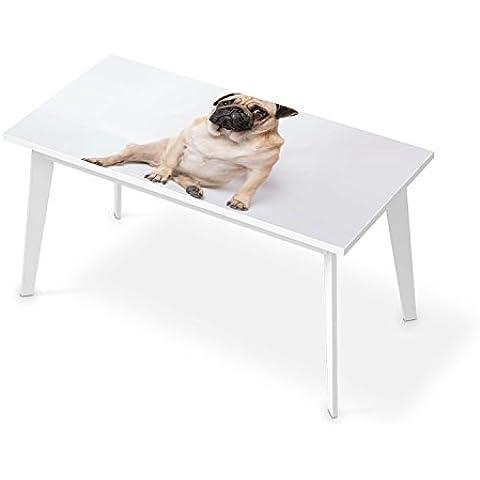 Autoadesivo lavabile - Adesivo Sticker per tavolo 150x75 cm | Decorazione autoadesivo - tavolo da lavoro salotto | Design Heidi Möpschen