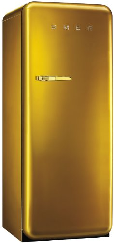 Smeg FAB28RDG frigo combine - frigos combinés (Autonome, Or, Placé en haut, Droite, A++, T)