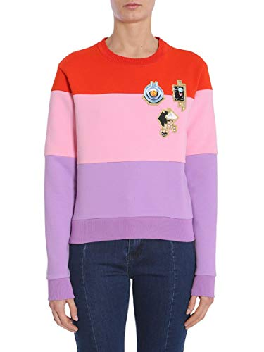 Carven Damen 7022Sw002388 Multicolour Baumwolle Sweatshirt