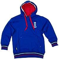 England Cricket - Sudadera con Capucha para niños, Infantil, Color Azul, tamaño 9-10 años