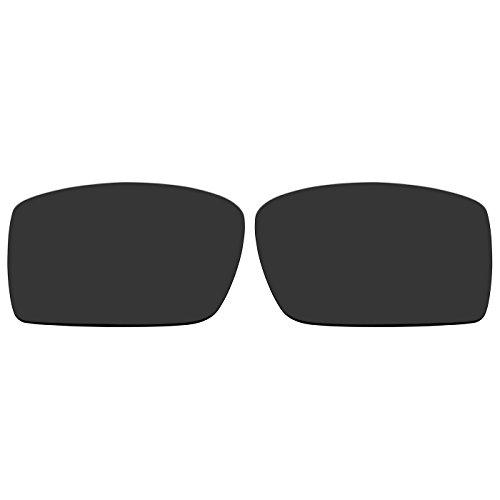 acompatible Ersatz Lenses für Oakley Sonnenbrille Gascan (nicht fit Gascan S), Black - Polarized (Oakley Gascan Lens)
