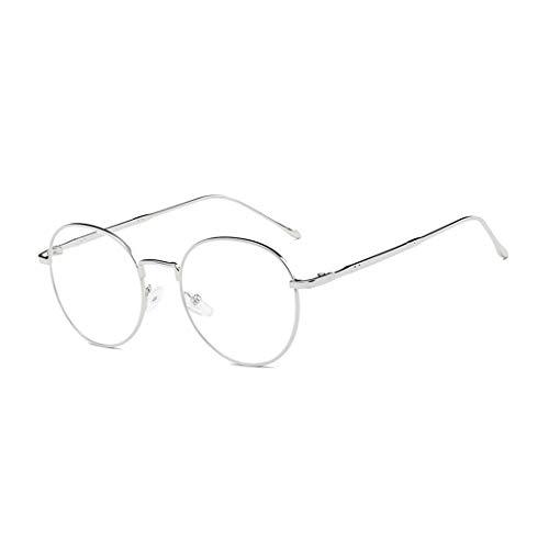 816ac965cf Retro metal Lente Anteojos transparentes Claro Gafas gafas nerd Vintage  Montura Para Mujer y Hombre