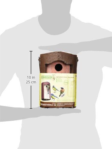 Schwegler 102 Nisthöhle, Einflugloch 32 mm, aus Holzbeton