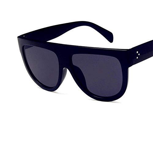CCTYJ Sonnenbrillen Übergroße Brillen Damen Sonnenbrillen Delicated Style 5 Arten erhältlich Classic Retro Leopard Frames Sonnenbrillen-Schwarz
