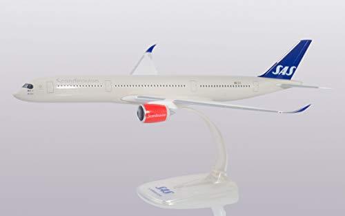 Herpa 612197 SAS Airbus A350-900, Wings/Flugzeug zum Sammeln, Mehrfarbig