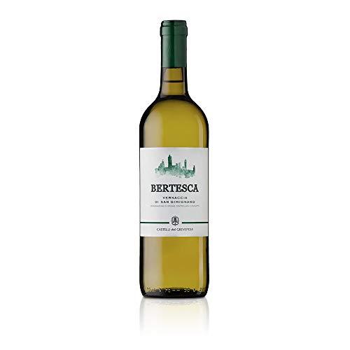 Vernaccia di San Gimignano DOCG Bertesca Castelli del Grevepesa Castelgreve Vino Bianco italiano (1 bottiglia cl. 75)