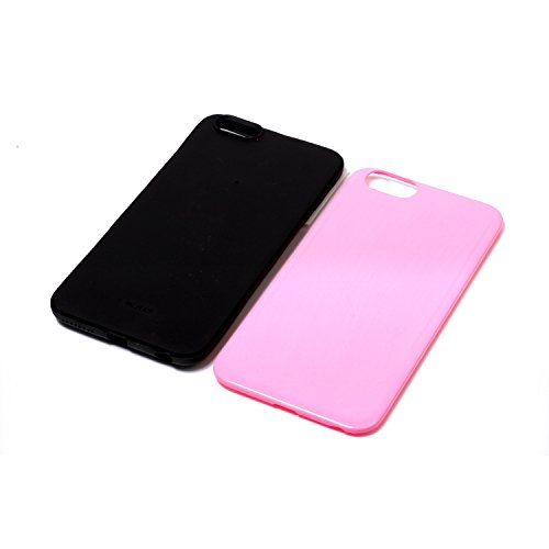 Voguecase Pour Apple iPhone 6 Plus/6S Plus 5,5, [TPU+PC]Coque de protection double couche pour Apple iPhone 6/6S 5,5, Absorption des chocs améliorée, Ajustement Parfait Coque Shell Housse Cover (2 in  2 in 1-Pink