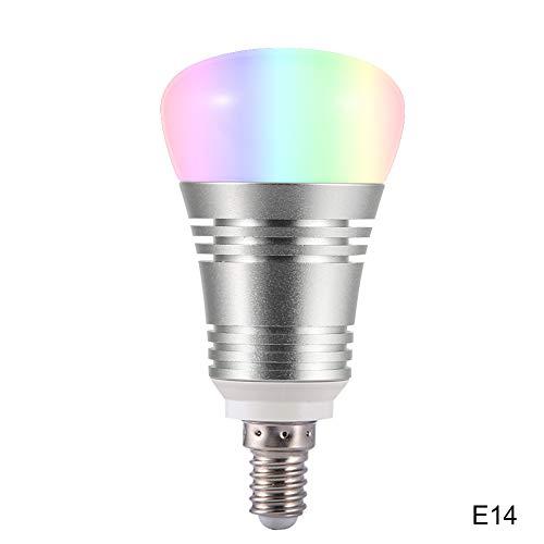 Dastrues LED-Lampe, WLAN, 16 Millionen Farben, für Google Home Amazon Alexa E14