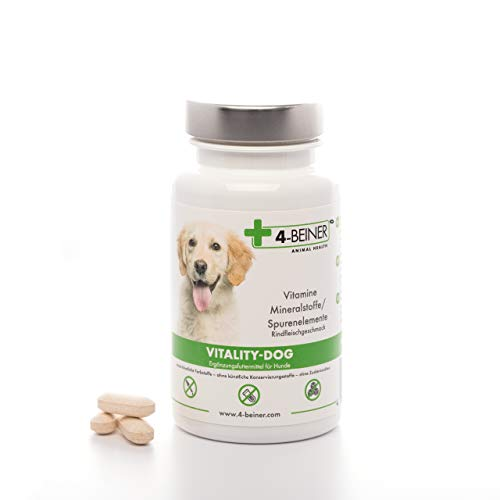 4-Beiner VITALITY-DOG: Multivitamines ABCD & E pour...