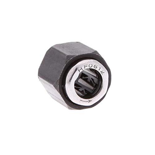 TianranRT R025-12mm Upgrade Teile Sechskant Mutter Eins Weg Lager für HSP 1: 10 RC Auto Nitro Motor (10 Rc-car Nitro 1 Scale)