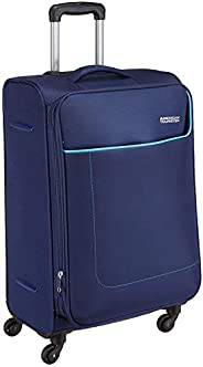 American Tourister Polyester 80 cm Navy Softsided Suitcase (AMT JAMAICA SP 80CM Navy Softsided)