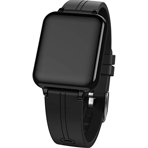 B57A Volltonfarbe Retro Multifunktionssport Schrittzähler Herzfrequenz Tracker Information Benachrichtigung Wasserdicht Smart Bracelet/Für Android iOS-Geräte und Software