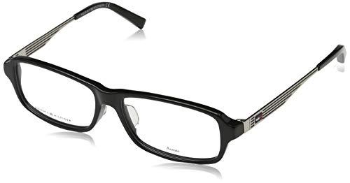 Tommy Hilfiger Unisex-Erwachsene 762753351128 Brillengestelle, Schwarz, 55
