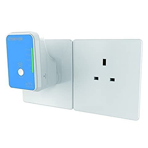 LTERIVER 802.11N 300Mbps Dual Ban 2.4GHz and 5GHz WiFi Repeater