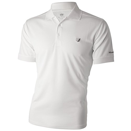 Wilson Staff Mens Authentic Polo-Shirt weiss GrösseXL - Authentic Polo-shirts