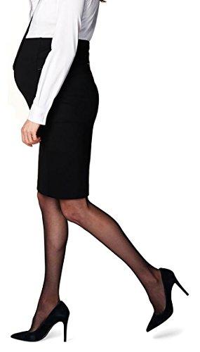 noppies Rock Skirt Katie mit Comfort Bund Bleistiftrock hinterem Schlitz Damen Umstandsmode 30785-XL
