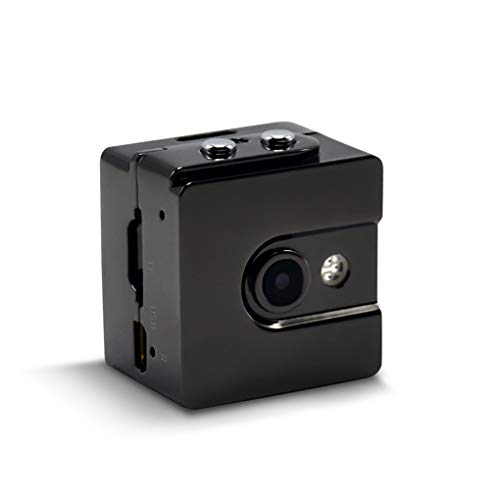 PRENKIN Mini Kamera Full HD 1080P Infrarot Nachtversion mit verdecktem Video Voice Recorder Weit Len Motion Detection DV Kamera - Motion Voice Sensor Recorder