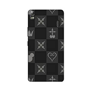 CHESS FIELD STRUCTURE BACK COVER FOR LENOVO A7000 TURBO