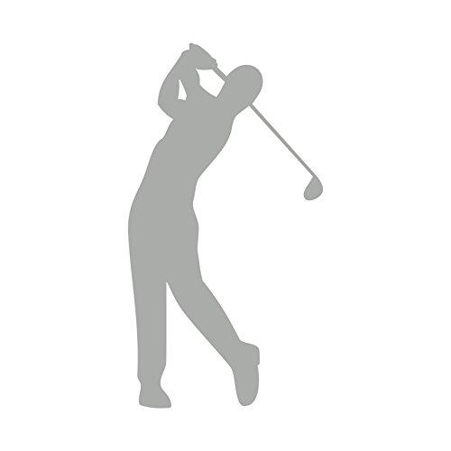 Golfspieler Aufkleber Golfer Golf Sport Autoaufkleber (Silber)