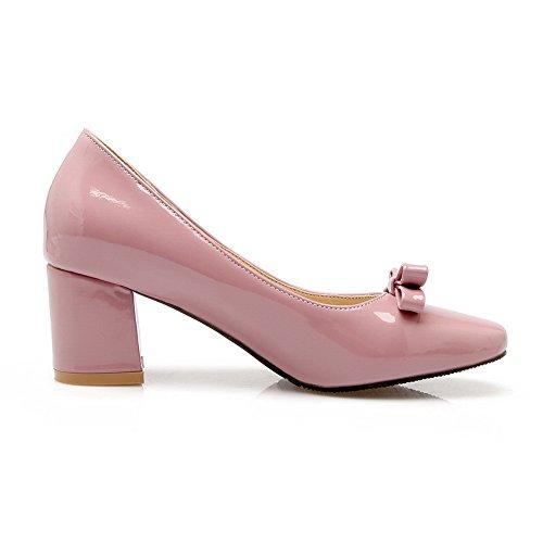 Balamasaapl10175 - Sandales Pour Femmes Avec Rose Compensée