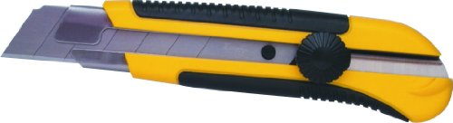 Stanley 10425 25MM Snap Off Knife with Dynagrip (Yellow and Black)