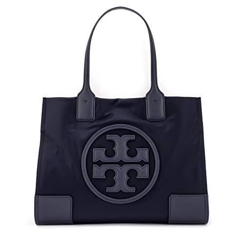 Tory Burch Schultertasche Ella Mini in Nylon Blau