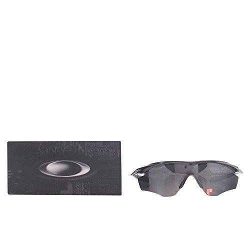 Oakley M2 Frame Visier Sonnenbrille, Red/Positive Red Iridium (S3)