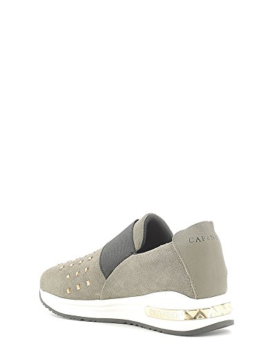 Slip on con strass quadrati Cafè Noir art. DA602 Taupe