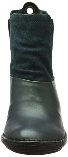 Fly London Sula673fly, Bottes Femme Vert (Seaweed/bottle)