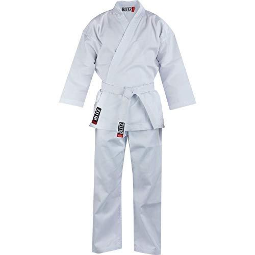 255 g colore: bianco 1//140 cm Karate Kimono da karate 100/% cotone