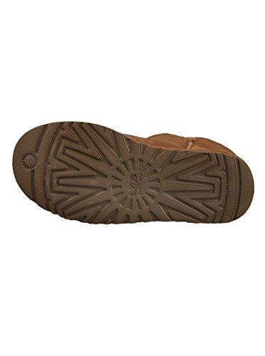 UGG Mini Bailey Button 3352 Damen Schlupfstiefel Brown