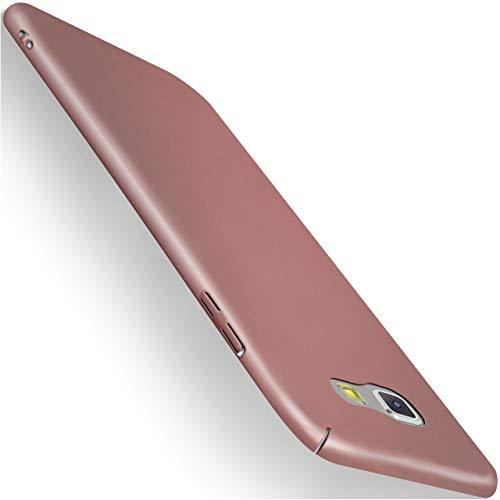 moex Samsung Galaxy A5 (2017) | Hülle Rose-Gold Alpha Back-Cover TPU Schutzhülle Dünn Handyhülle für Samsung Galaxy A5 2017 Case Ultra-Slim Thin Skin Handy Schutz Rückseite