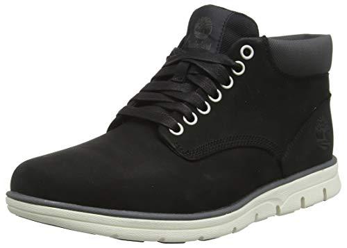 Timberland Herren Bradstreet Leather Sensorflex Chukka Boots, Schwarz (Black Nubuck), 46 EU