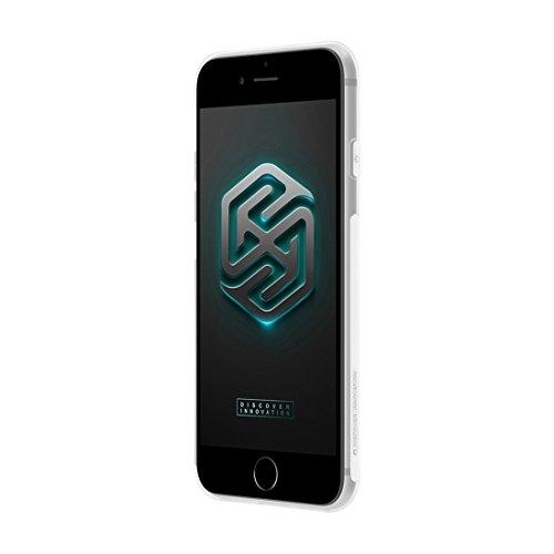 Cellphone protector, NILLKIN caso Natura TPU per iPhone 7 Plus 0,6 millimetri elegante ultrasottile Clear Color molle protettiva copertura posteriore di caso ( Color : Brown ) White