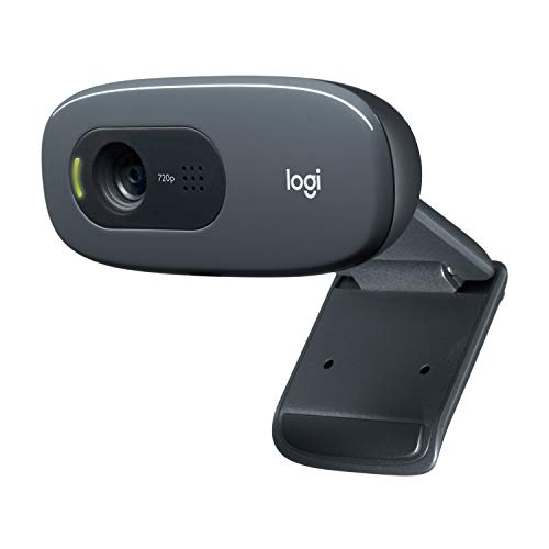 Logitech C270 HD Webcam (720p) schwarz (Hd-cam Laptop)