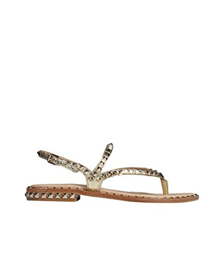 ASH Damen Sandale Peps goldfarben mit Nieten Ariel 40