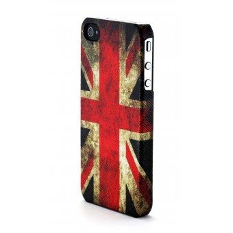 Moxie Schutzhülle Rückseite Flagge Antik UK für iPhone 4/4S