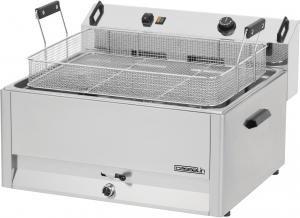 friteuse à beignets électrique professionnelle - inox - 30 litres - 15 kw - 400 v - neuve - equipementpro
