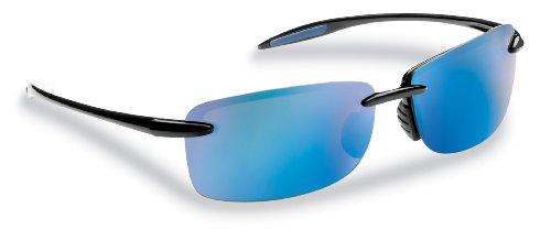 Flying Fisherman Cali Polarisierte Sonnenbrille, Unisex, Smoke-Blue Mirror Lens
