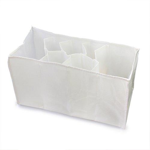 Pinzhi Wickeltasche Windeltasche Windel Organizer Pflegetasche Tasche (Weiß)
