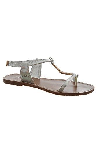 Sandali, nu les p'tites bombes piedi petunia, colore: grigio, Grigio (grigio), 40