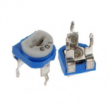 Souked 1PC 6mm 10K OHM Trimpot Trimmer Pot Variable Resistor Horizontal