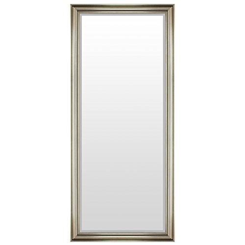 XXL Wandspiegel Flurspiegel Garderobenspiegel Frisierspiegel Spiegel mit Facettenschliff 170x70cm - Silbergold
