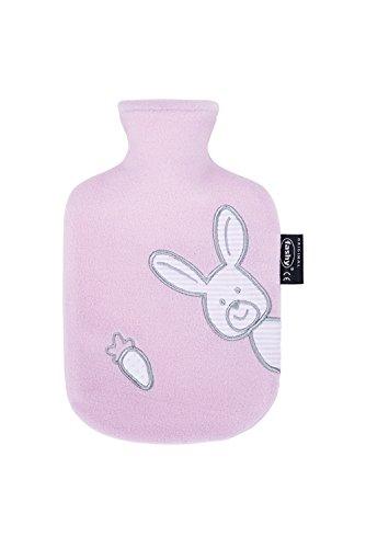 Fashy Wärmflasche Kind Flauschbezug rosa, 0.8 L, 1er Pack (1 x 1 Stück) Kinder-dienstleistungen