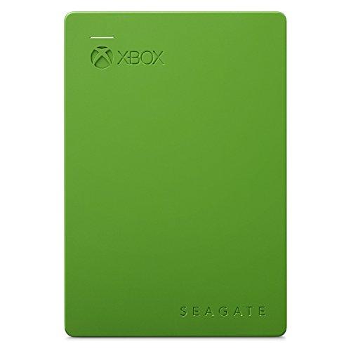 Seagate Jeu de Disque Dur Externe pour Xbox One et Xbox 360 USB 3.0 (certifié reconditionné) 2TB Vert