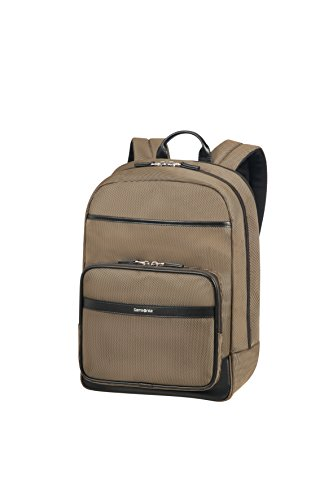 "SAMSONITE Fairbrook - Laptop Backpack 15.6"" Sac à dos loisir, 43 cm, 17.5 liters, Bronze/Schwarz"