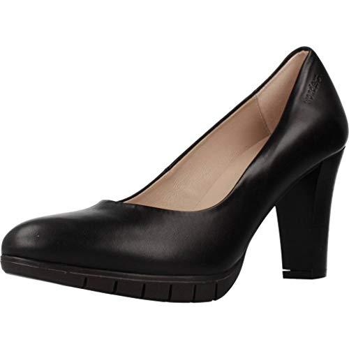 Wonders Zapatos Tacon M1973 para Mujer Negro 36 EU