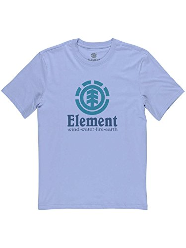 Element Herren Vertical Ss Shirt und Hemd BLUE FADE_Blau